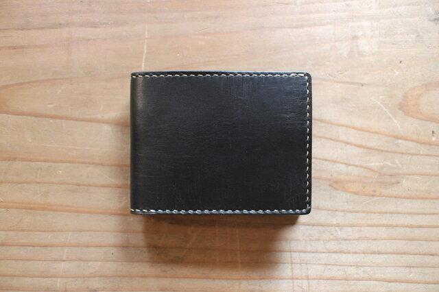 【一点物即納品】二つ折り財布 ~インポートオイルレザー~の画像1枚目