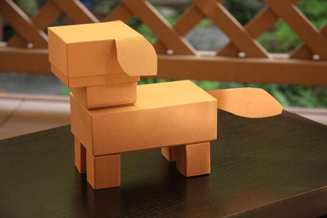 ワークキット〜箱で作る動物・犬〜の画像1枚目