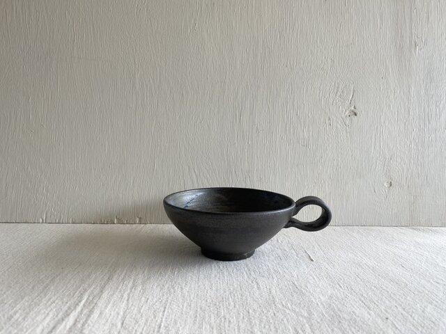 スープマグカップ ブラウニーブラックの画像1枚目