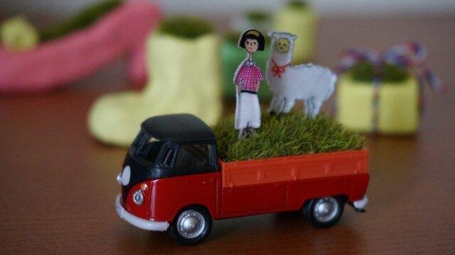 グリーンなトラックの画像1枚目