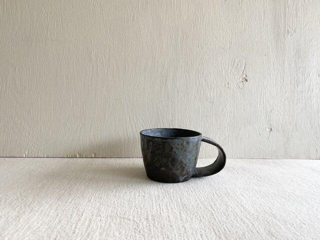 太マグカップ ブラウニーブルーの画像1枚目