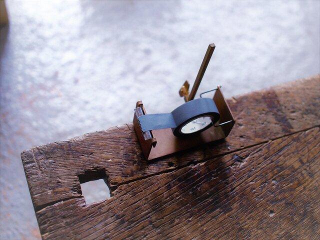 真鍮 マスキングテープカッターの画像1枚目