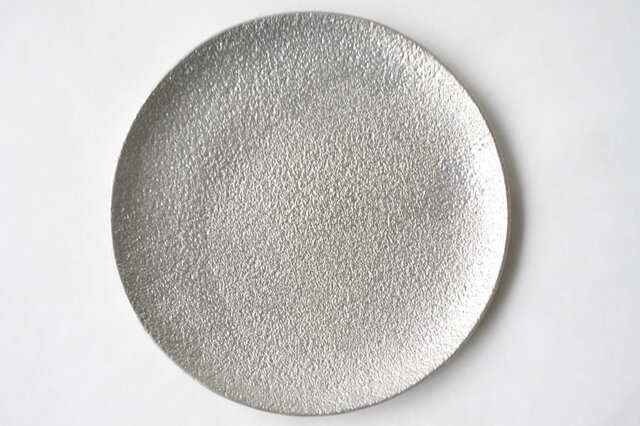 純錫製 「丸皿」の画像1枚目