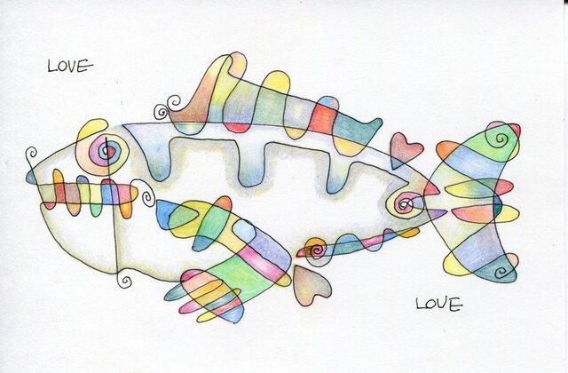 Love Fish Loveの画像1枚目