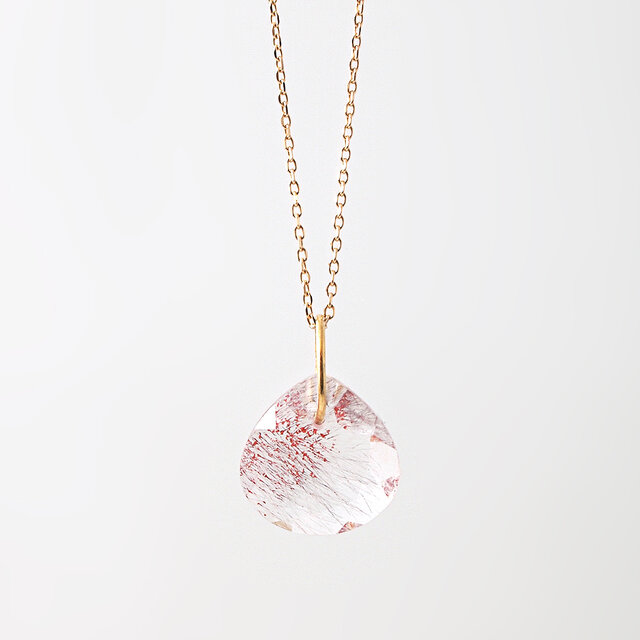 Lepidocrocite charm necklaceの画像1枚目