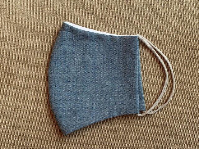 天然素材の涼しい立体布マスク【L】の画像1枚目