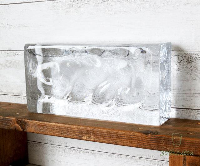 【※欠品中※数量限定販売】ICE BLOCK エクストラクリアの画像1枚目