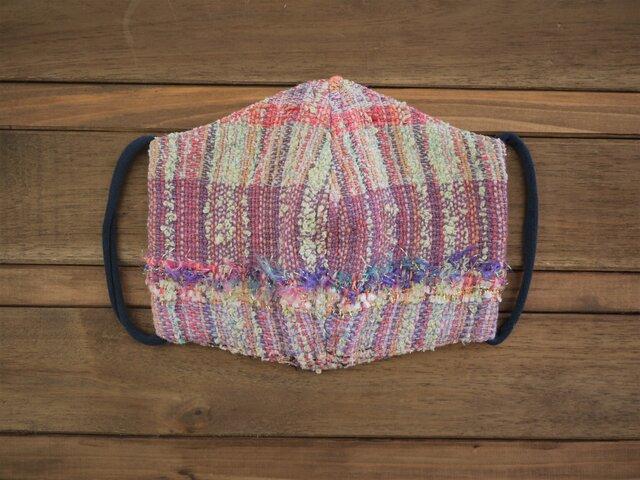手織り ダブルガーゼ マスクの画像1枚目