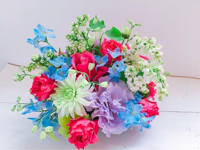逢いたいきもちをお花に託して 里帰り<花帰り>の画像1枚目