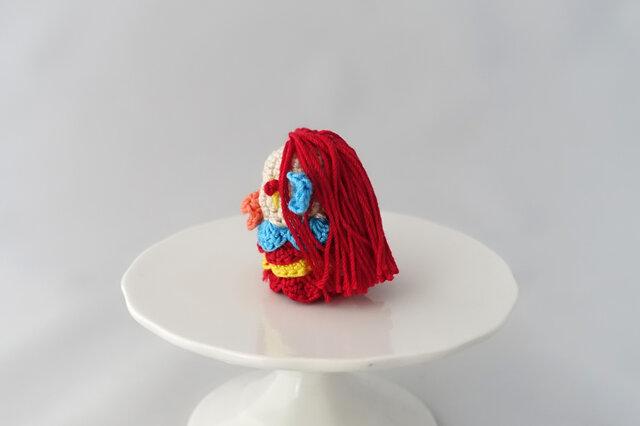 アマビエの指人形(レッド2)の画像1枚目