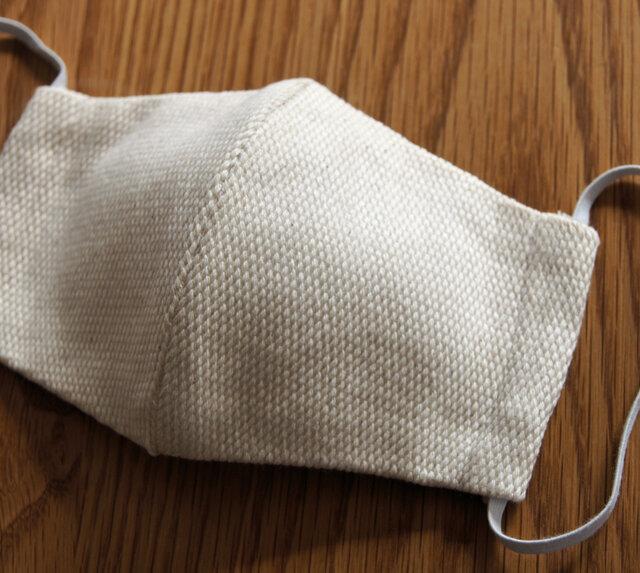 刺し子織り 立体マスク THE STANDARD 洗えるの画像1枚目