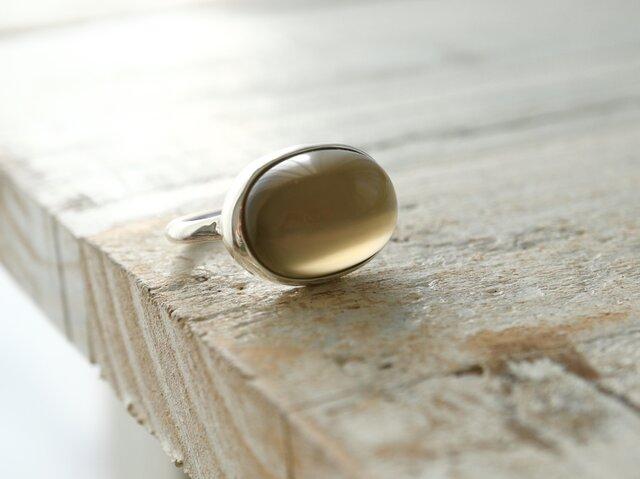 月兎のgreen moon ストーン ringの画像1枚目