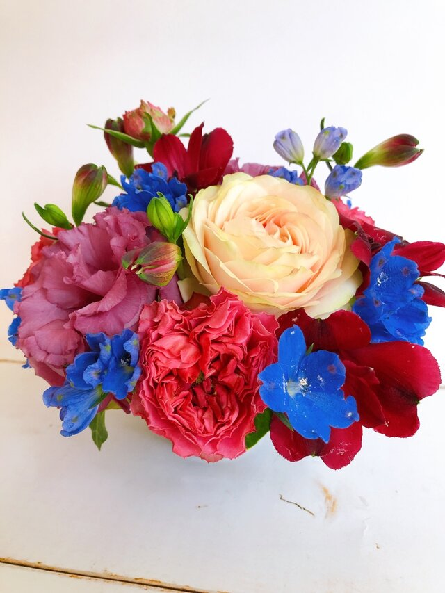 逢いたいきもちをお花に託した里帰り<花帰り>の画像1枚目