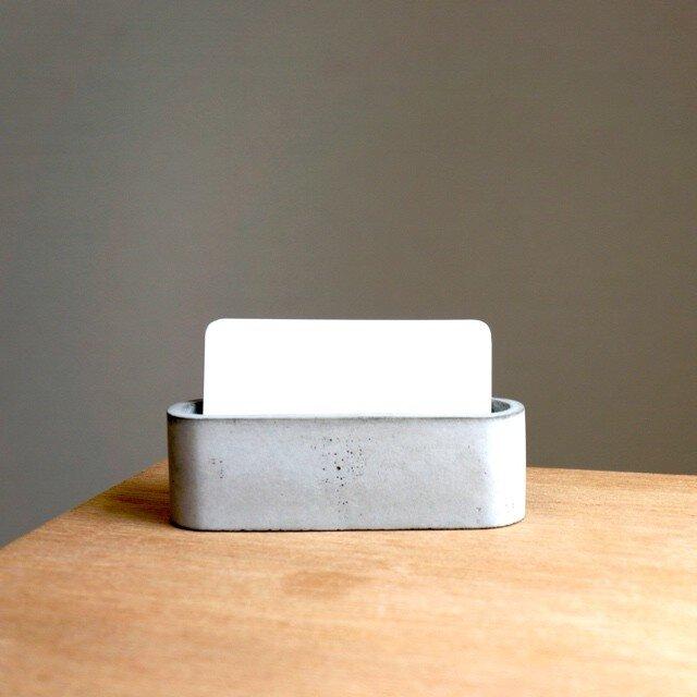 セメントオーバルカードスタンドの画像1枚目
