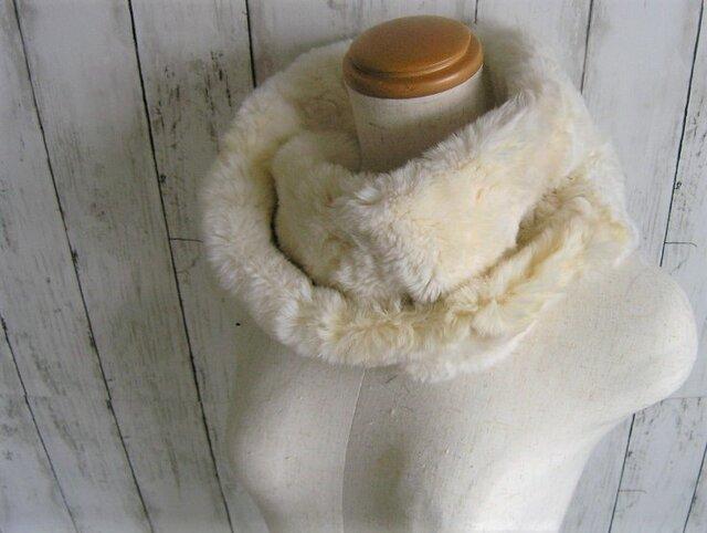¶ new antique fur ¶ アーミンファーnejiriスヌード「almini」の画像1枚目