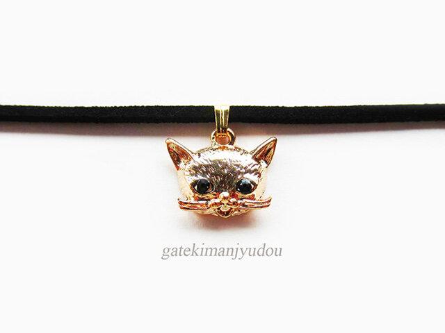 猫のチョーカー【長さ変更可】の画像1枚目