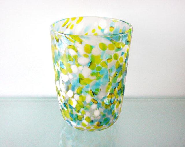 彩グラス(Blue & yellow)の画像1枚目
