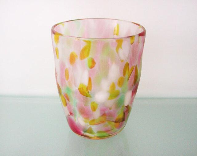 彩グラス(フラワー04)の画像1枚目