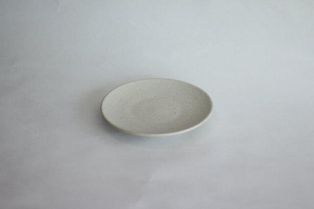 シンプルな丸皿 白 5寸14cmの画像1枚目