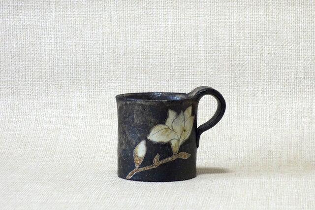 四方マグカップ(もくれん)の画像1枚目