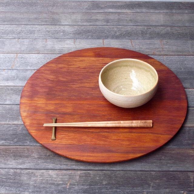 折敷(丸盆)の画像1枚目
