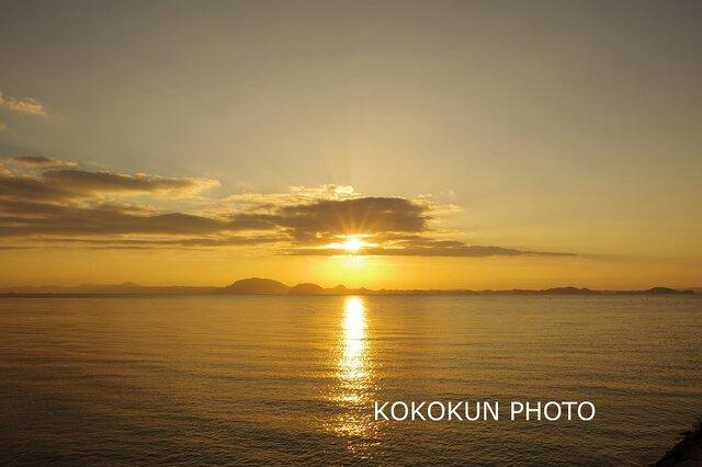 有明海の朝の風景12「ポストカード5枚セット」の画像1枚目
