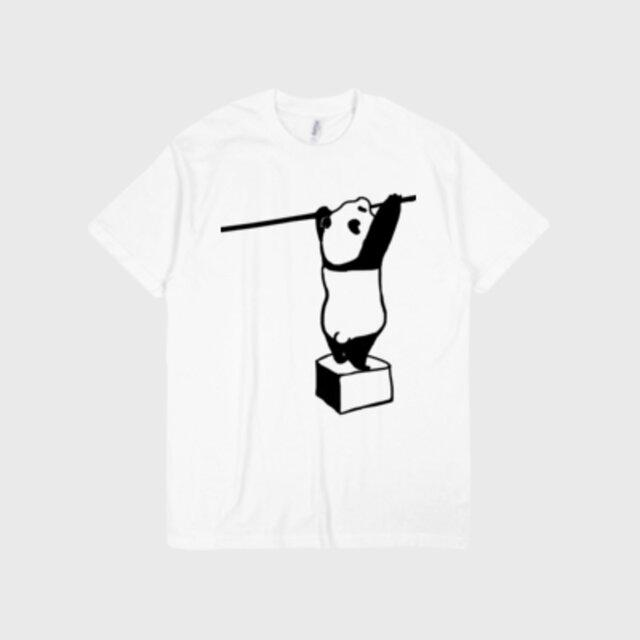パンダプリントTシャツ(送料無料) 受注生産品の画像1枚目