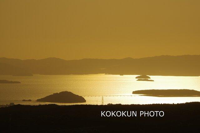 海と夕景「ポストカード5枚セット」の画像1枚目