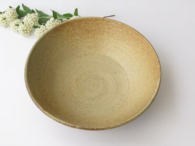 炭化の丸鉢 (送料無料)の画像1枚目