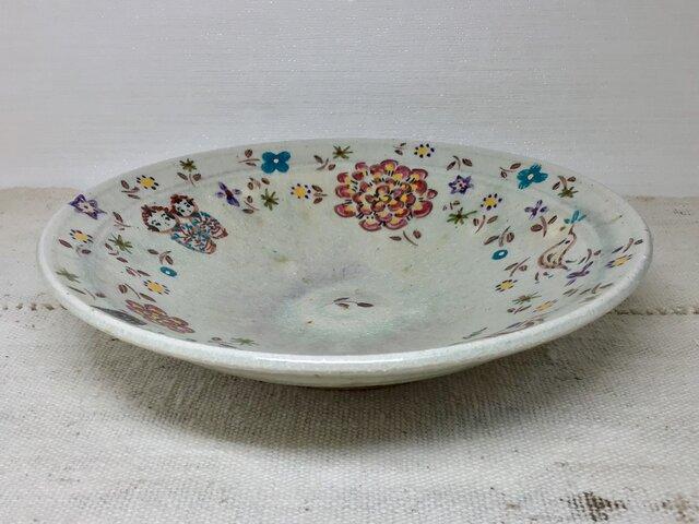 ざおうの森・りんご釉平鉢の画像1枚目