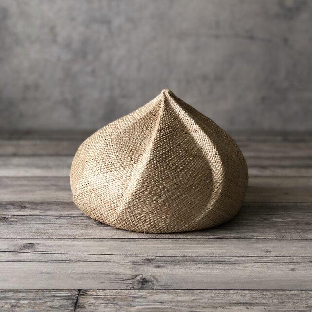 夏帽 whipberet/naturalの画像1枚目