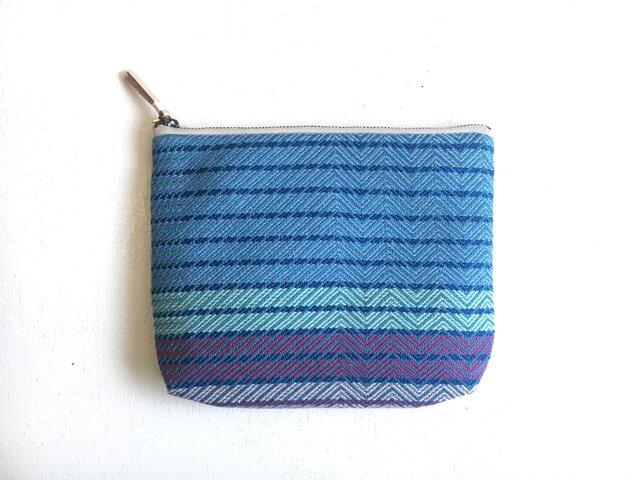 pouch -blue -の画像1枚目