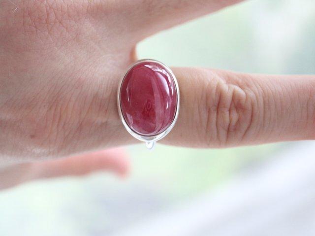 薔薇のつぼみのインペリアル ロードナイト ringの画像1枚目