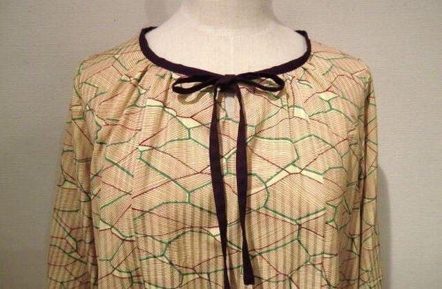 〔sale!〕羽織から紫リボンのチュニックの画像1枚目