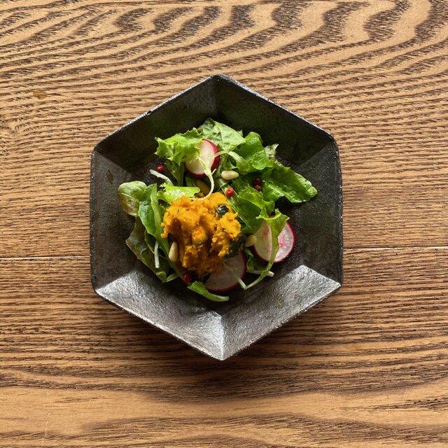 灰秞 6角鉢の画像1枚目