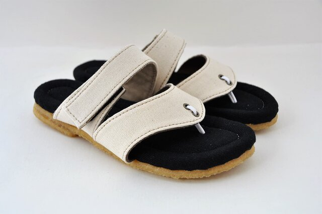 【受注製作】natural sandalsの画像1枚目