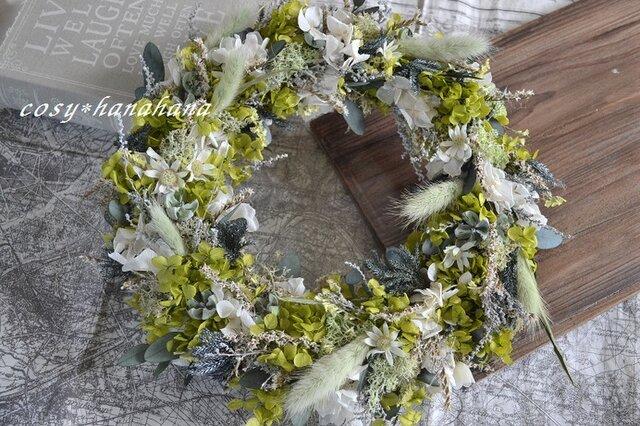 新緑の風wreathの画像1枚目
