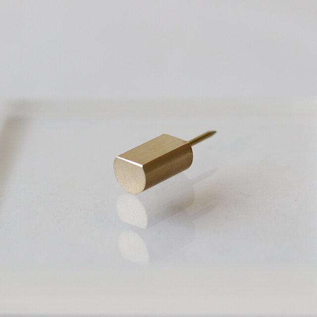 真鍮製プッシュピン [ ブラスピン ]の画像1枚目