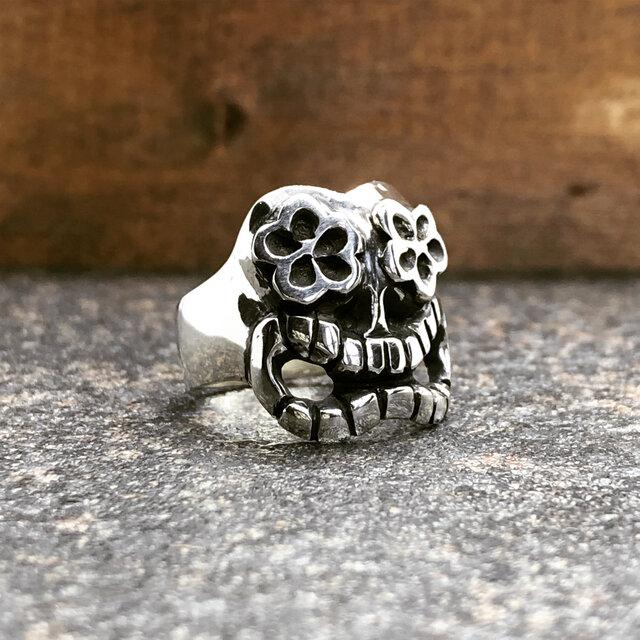 """Aloha Skull Ring """"アロハなスカルのリング""""の画像1枚目"""