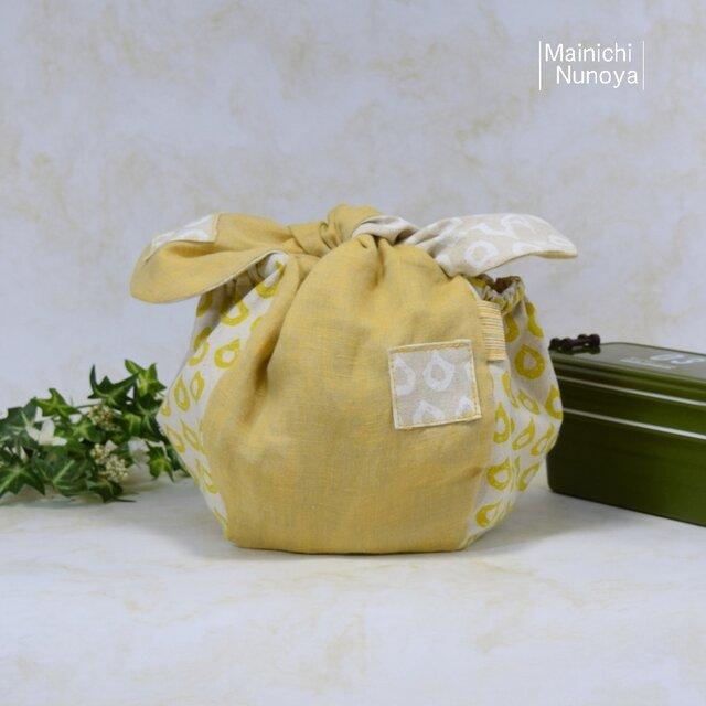 ころんと可愛いお弁当袋♪ きゅっとぷち袋(少し大きいサイズ) :B1の画像1枚目