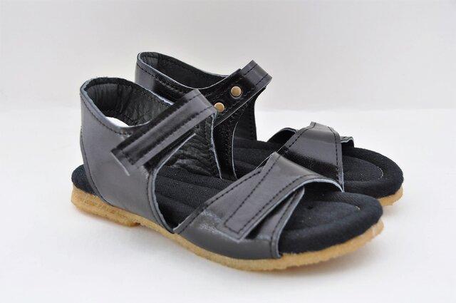【受注製作】natural sandals (natural leather)の画像1枚目