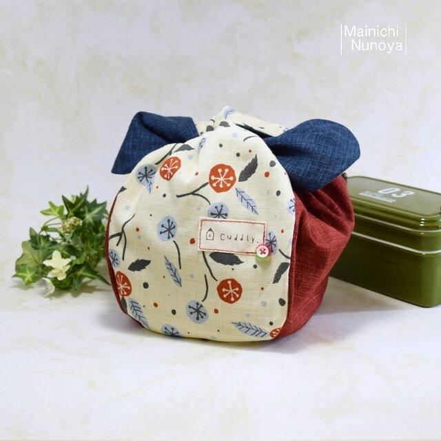 ころんと可愛いお弁当袋♪ きゅっとぷち袋(少し大きいサイズ) :B2の画像1枚目