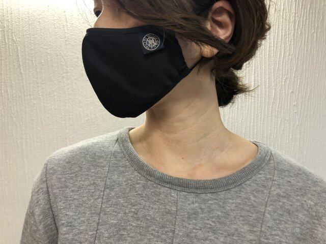 夏用高性能マスク グレーSサイズ【予約注文】VDLCオリジナルの画像4枚目