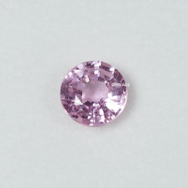 天然石ピンクサファイアのルースストーン (Pink Sapphire Loose Stone)の画像1枚目