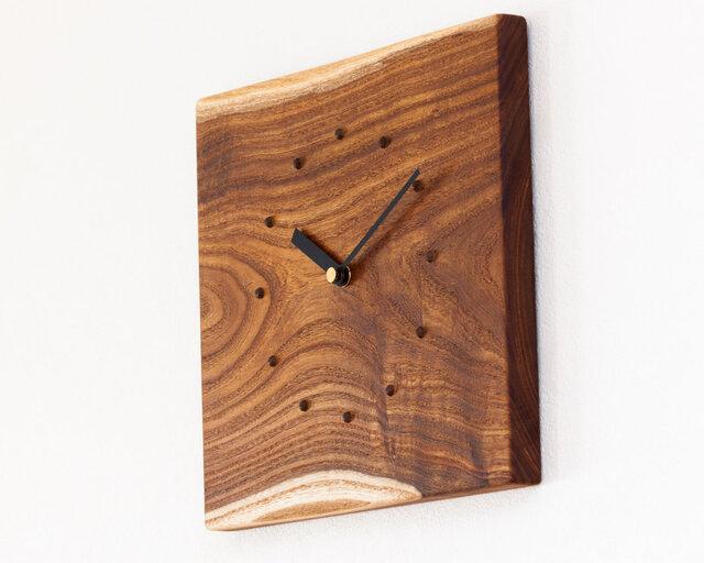 エンジュの壁掛け時計5の画像1枚目
