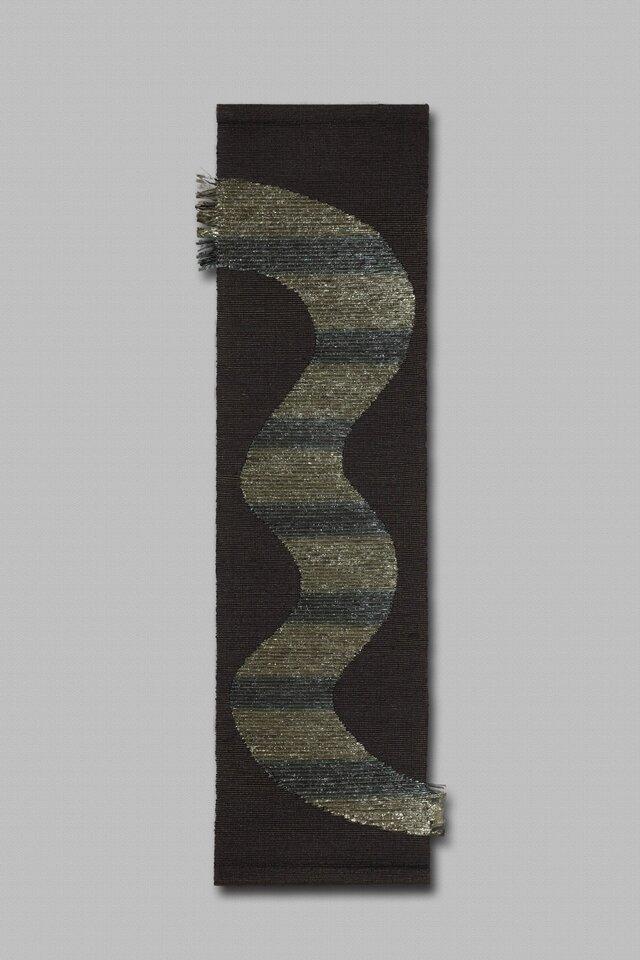 手織りタペストリー  銀河の画像1枚目