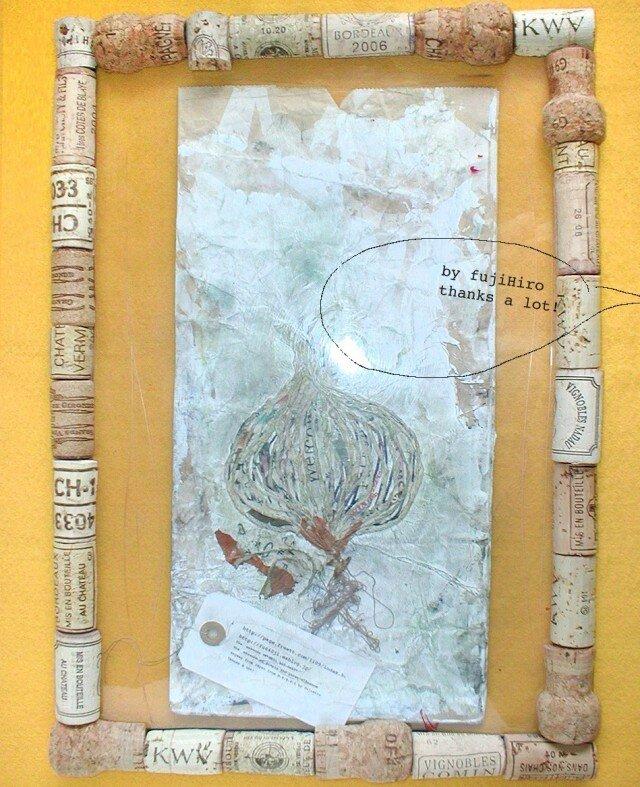 紙袋と玉葱@B4:25.7×36.4cmの画像1枚目