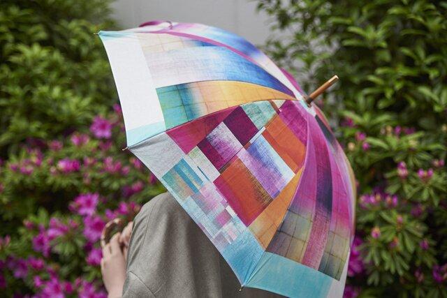 晴雨兼用日傘・長傘  - STONE BLOCK -の画像1枚目