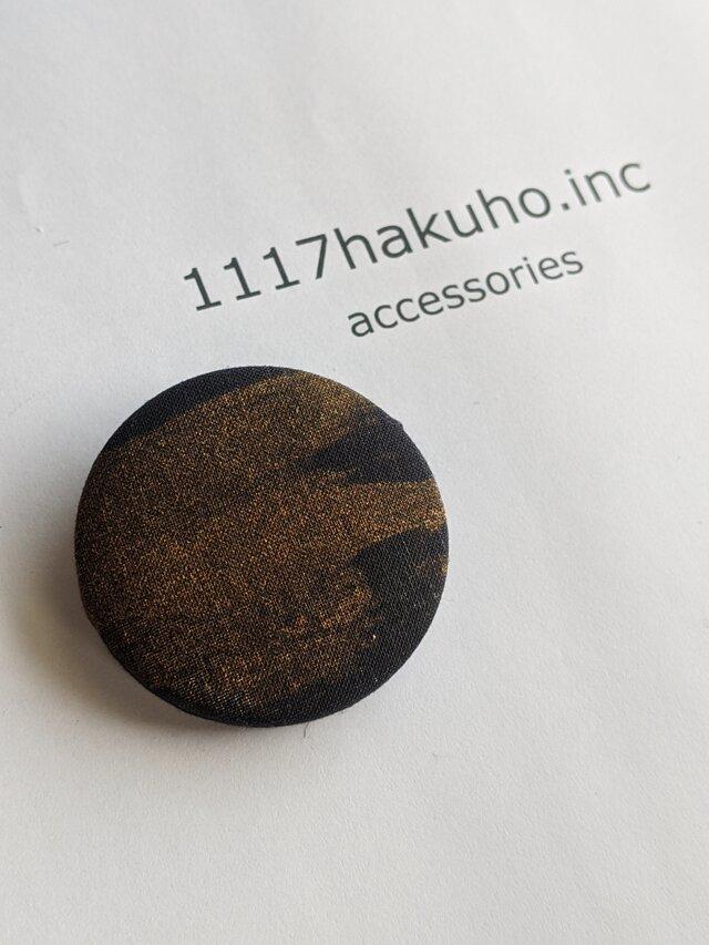 惑星シンフォニー/brooch/black・goldの画像1枚目