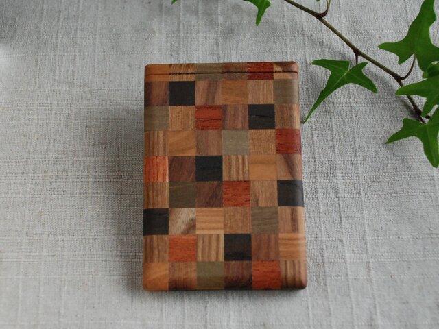 寄木のカードケース⑤の画像1枚目